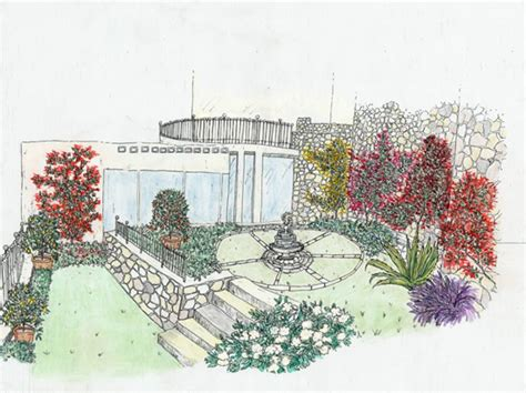 giardino roccioso mediterraneo un giardino mediterraneo roccioso progettare giardini