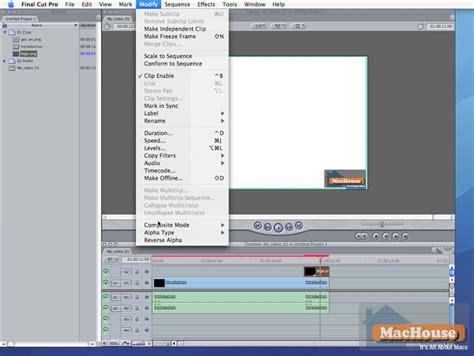 final cut pro basic tutorial final cut pro 6 video tutorial editing basics 02