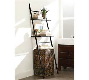 bathroom etagere toilet rustic the toilet etagere pottery barn