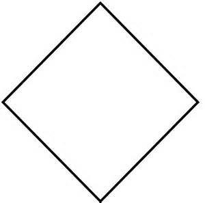 diamond shape template printable like success