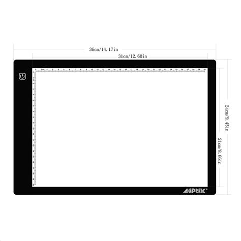 craft light box for tracing usb cable led artcraft tracing light pad a4 light box for