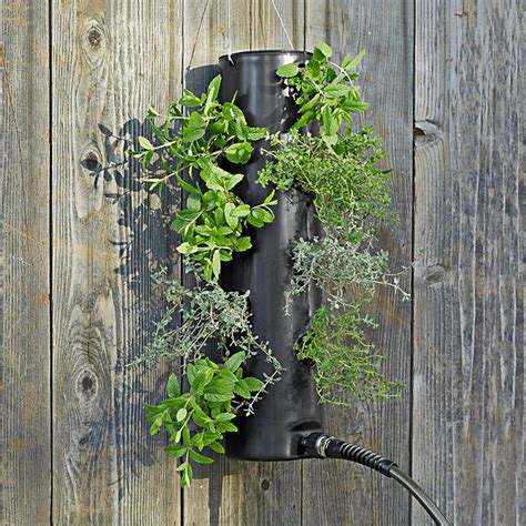 Self Watering Vertical Planters polanter self watering vertical planter the green head