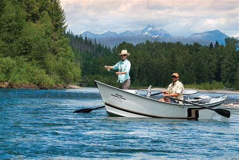 drift boat rental livingston mt swan mountain outfitters on a trail ride in glacier