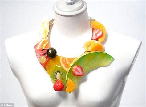 8 Fruity Inspired Accessories by Japanese Artist Norihito Hatanaka Creates Realistic Food