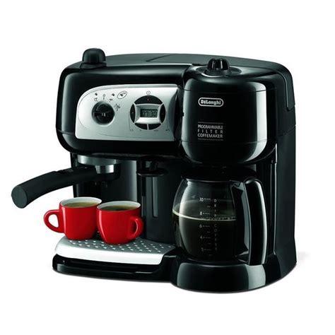machine expresso avec broyeur 331 delonghi bco 264 1 combin 233 expresso cafeti 232 re noir