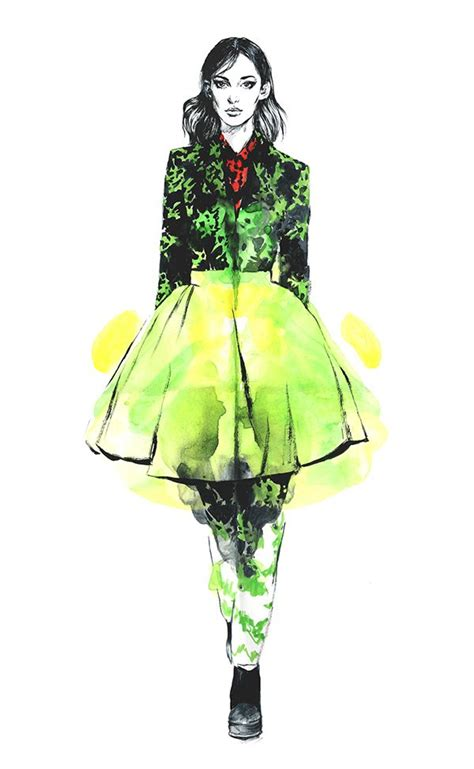 fashion illustration editorial kenzo editorial fashion illustration by diana kuksa