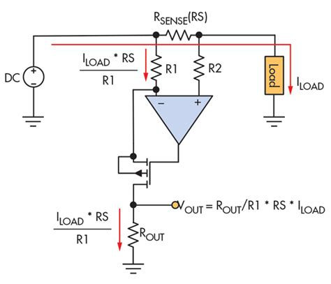 current sense resistor differential lifier calculating accuracy in high side current sense lifiers electronic design