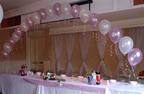 Decoration With Balloons by Wedding Balloon Decorations Ideas Favors Ideas