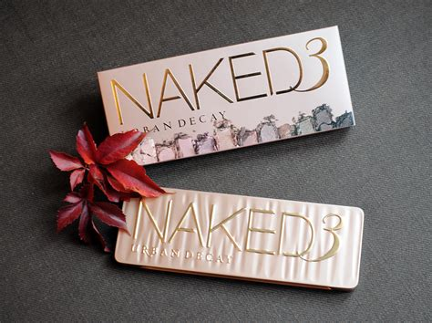 Naked3 3 Limited la 3 de decay les swatchs whee confetti