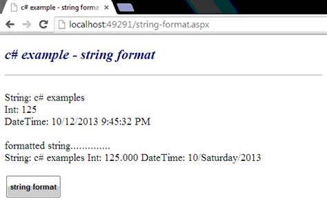 format html string c c how to format a string