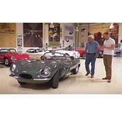 Jay Leno Inspects The New 1957 Jaguar XKSS