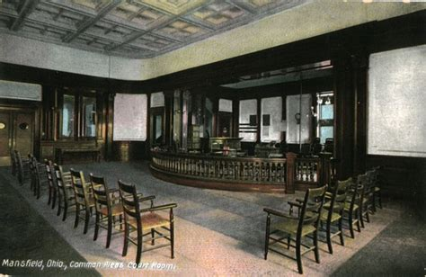 Mansfield Interiors by Interior View Of The Richland County Courthouse In