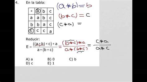 tabla de doble entrada como resolver operadores matem 225 ticos con tabla de doble