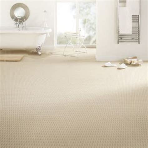 bathroom carpets uk takeaway bath carpet in ivory from b q bargain carpets