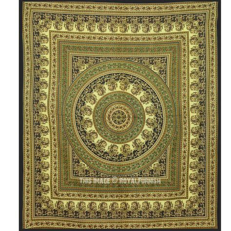 bed tapestry queen bohemian paisley mandala tapestry wall hanging