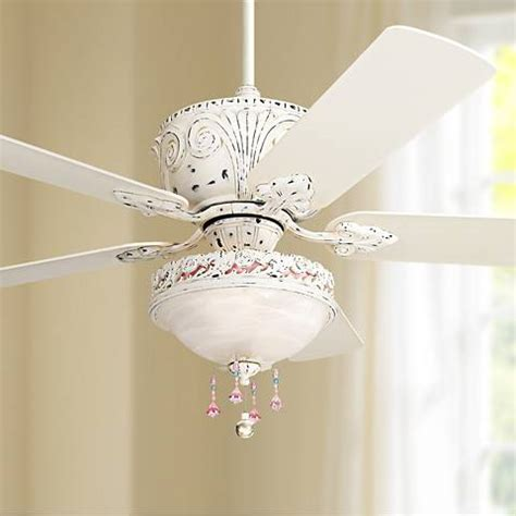 antique white ceiling fan with light casa antique white light kit ceiling fan 87534