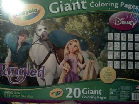 crayola giant coloring pages tangled pin by wanda gawtry on toys games drawing painting