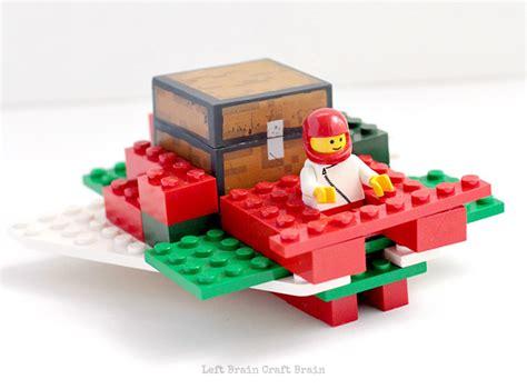 santa on the sleigh kids crafts lego santa sleigh stem building challenge left brain craft brain