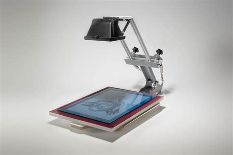Maxi Set siebdruck maxi set mit drucktisch und belichter