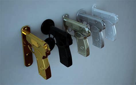 Gun Door Knobs by Knock Knock Pew Pew Gun Grip Door Handles Geekologie