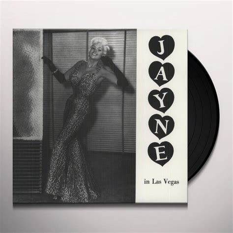 Las Vegas Records Record Jayne Mansfield Jayne In Las Vegas Vinyl Record