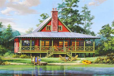 Lake Front House Plans by Lake Front Plan 1 665 Square 2 Bedrooms 2