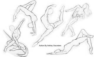 human figure sketching by asaunders on deviantart