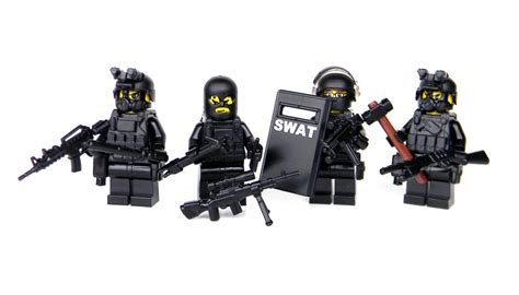 swat team officer tactical unit sku53 made with