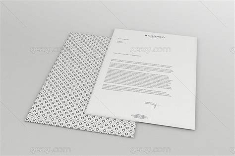 business letter mockup 50 free psd mockups for editorial designers