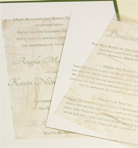 Wedding Invitations Tissue Paper by Wedding Invitation Tissue Tissue Paper Inserts