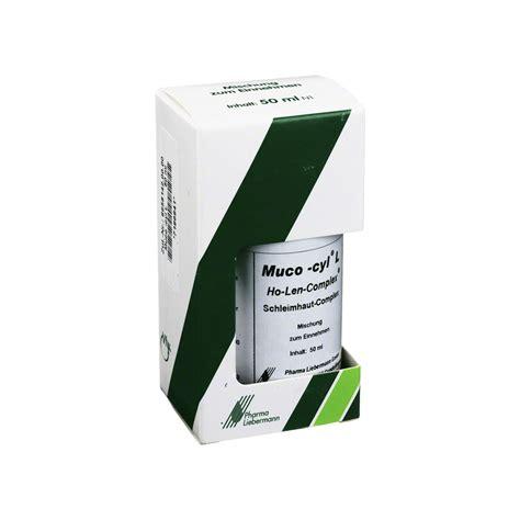 Len Bestellen by Muco Cyl L Ho Len Complex Tropfen 50 Milliliter N1