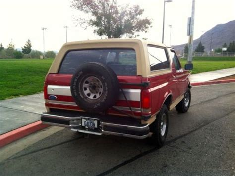 1990 ford bronco ii eddie bauer 4x4 clean v6 tons of new parts winter ready find used 1990 ford bronco eddie bauer 4x4 gt gt rust free gt gt low miles gt gt clean in henderson nevada