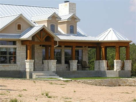 south texas house plans distinct farmhouse w steel roof wrap around porch