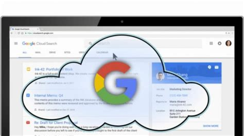 Smart Search Engine Cloud Search Offers A Smart Search Engine For G Suite
