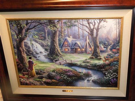 Snow White Discovers The Cottage by Snow White Discovers The Cottage New Paintings