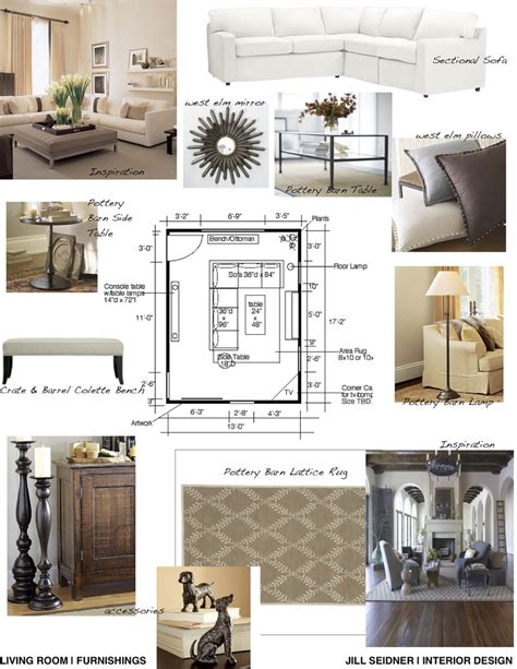 living room furnishings concept board jill seidner concept board for living room jill seidner interior