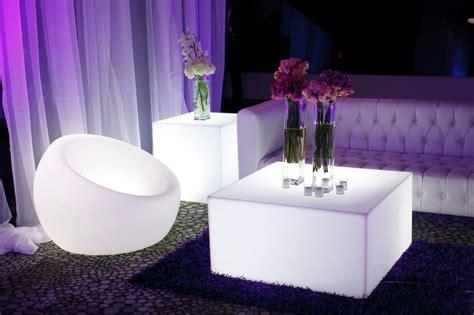 fascinating contemporary illuminated furniture  spice   interior