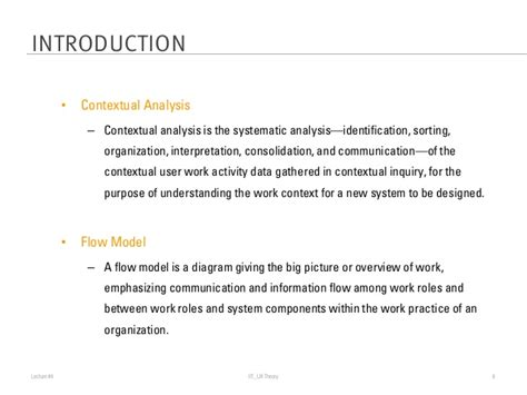 context analysis template lecture 4 contextual analysis