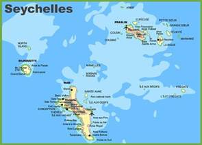 where is seychelles on world map seychelles islands map