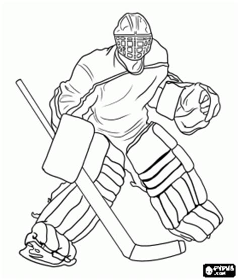 sharks hockey coloring pages ice hockey goaltender coloring page emmanuel sharks