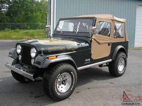 Jeep Eagle 1983 Jeep Cj7 Golden Eagle