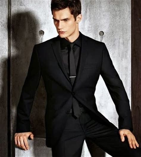 Black Formal Style Suit 41444 17 best images about mens formal wardrobe on