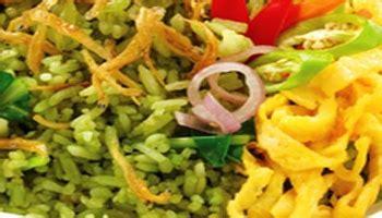 cara membuat nasi uduk warna hijau resep nasi goreng cabai hijau resep cara membuat masakan