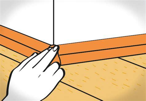 Sockelleisten Verlegen Winkel by Laminat Verlegen In 13 Schritten Obi Ratgeber