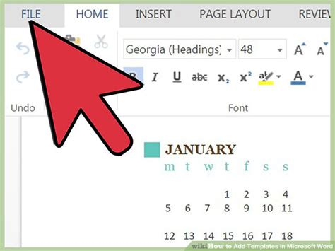 add templates to word 4 easy ways to add templates in microsoft word wikihow
