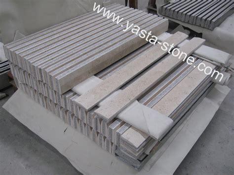 marble laminated granite threshold honed marble threshold with bevel edges