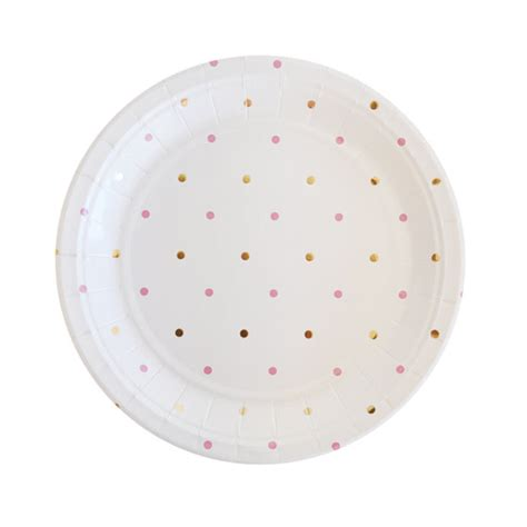 gold pattern party plates gold pink plates polka dot paper plates gold plates disposable