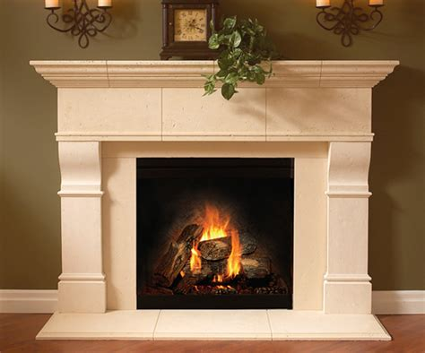 mantels the house