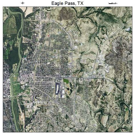 where is eagle pass texas on a map aerial photography map of eagle pass tx texas