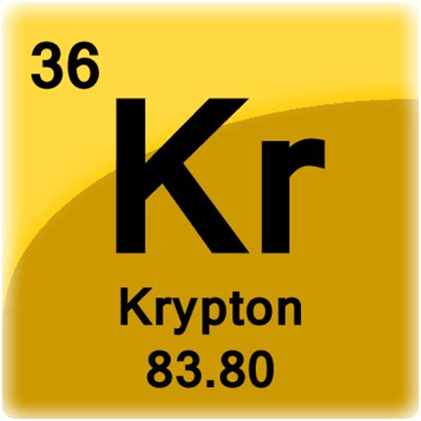 Krypton L by Krypton Element Cell Science Notes And Projects